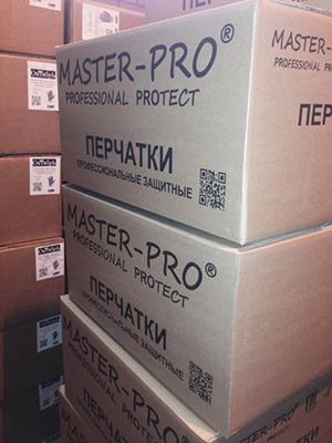 Перчатки рабочие Master-Pro от российского производителя