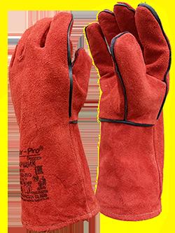 Перчатки спилковые, кевларовые