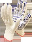 Перчатки х/б белые, цветные