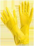 Перчатки резиновые, КЩС