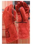 Перчатки спилковые, кожаные